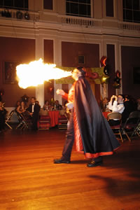 THE Essex FIREBREATHER at The Guildhall in Cambridge